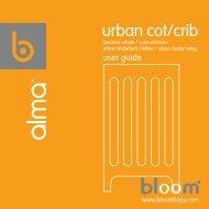urban cot/crib