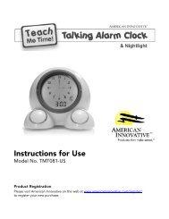 Teach Me Time Clock User Manual