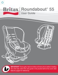 Britax Roundabout 55 Instruction Manual