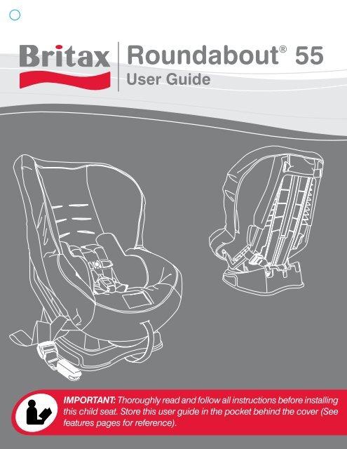 Britax Roundabout 55 Instruction Manual