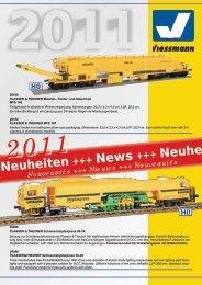 Neuheiten Frühjahr 2011 - Viessmann Modellspielwaren GmbH
