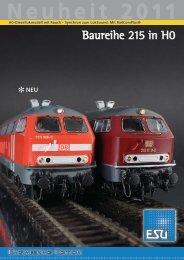 Baureihe 215 in H0 - Menzels Lokschuppen