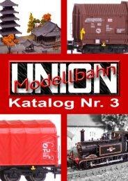 Modellbahn Union Neuheiten 2012 - Modellbahnshop Sebnitz