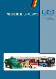 NEUHEITEN 04.-06.2012 - Rietze