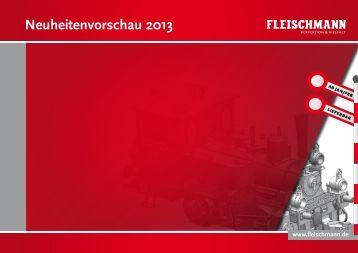 Fleischmann Neuheiten 2013-1