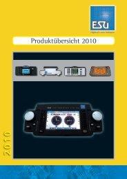 Produktübersicht 2010 - Lokshop