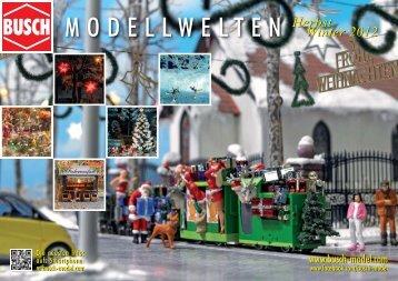Modellwelten »Herbst & Winter 2012 - Modellbahnstation