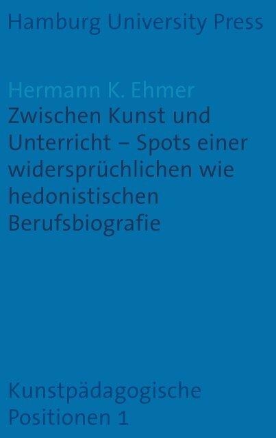 Zwischen Kunst und Unterricht - Hamburg University Press ...