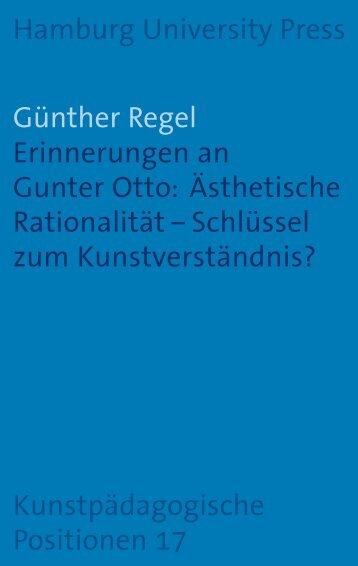 Erinnerungen an Gunter Otto - Hamburg University Press ...
