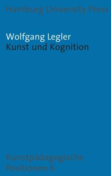 Kunst und Kognition - Hamburg University Press - Universität ...