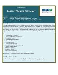 Basics of Welding Technology