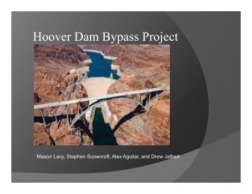 Hoover Dam Bypass Project