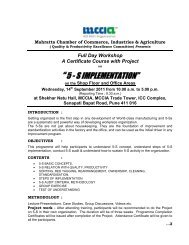 5 - s implementation - Mahratta Chamber Of Commerce Industries ...