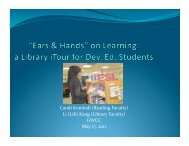 """""""Ears and Hands"""" on Learning - Maricopa Center for Learning and ..."""