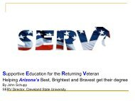 SERV Presentation.pdf - Maricopa Center for Learning and Instruction