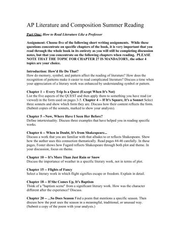 how to read literature like a professor dialectical journal How to read literature like a professor - thomas c foster  if you need a refresher as to what a dialectical journal is) 3 oedipus rex - sophocles (text.
