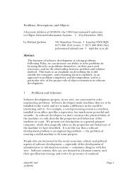 Problems, Descriptions, and Objects Abstract 1 Problems and ...