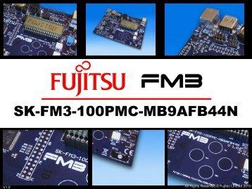 SK-FM3-100PMC-MB9AFB44N - Microcontrollers - Fujitsu