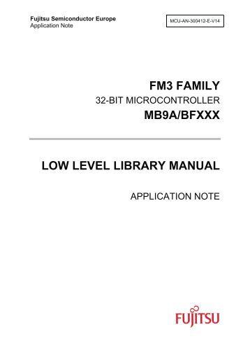 mcu-an-300412-e-v14-fm3_l3_manual - Microcontrollers - Fujitsu