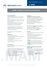 ac.MAM– Das Modul für Ihr Media-Asset ... - advanced-concepts