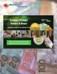 Teacher's Guide - Loonies, Toonies.indd - Amazon Web Services