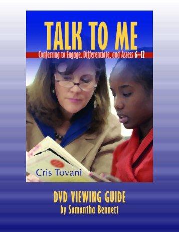 tovani talk to me viewing guide.qxp - Amazon Web Services