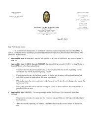 Notice Regarding Appeals of Bond Forfeitures