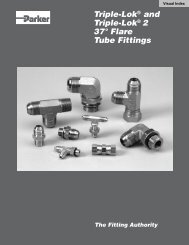 Triple-Lok® and Triple-Lok® 2 37° Flare Tube Fittings