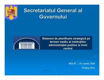 Secretariatul General al Guvernului