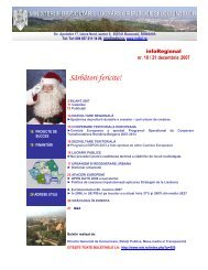 Sărbători fericite! - Ministerul Dezvoltării Regionale şi Turismului
