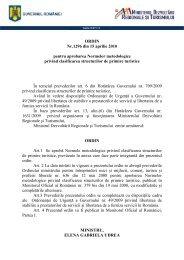 Ordin nr. 1296 din 15 aprilie 2010 - Ministerul Dezvoltării Regionale ...