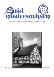 Zeitschrift für Regionale Forschung und Heimatpflege