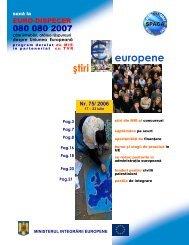 Numarul 75 / 2006 - Ministerul Dezvoltării Regionale şi Turismului