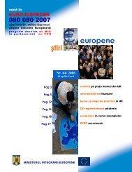 Numarul 64 / 2006 - Ministerul Dezvoltării Regionale şi Turismului