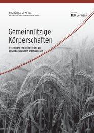 Gemeinnützige Körperschaften - MDS Möhrle & Partner