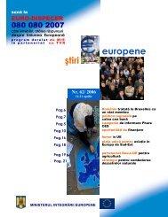 Numarul 62 / 2006 - Ministerul Dezvoltării Regionale şi Turismului
