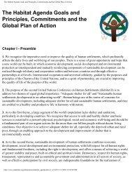 The Habitat Agenda Goals and Principles ... - UN-Habitat