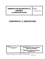 CONSTRUCŢII şi ARHITECTURĂ