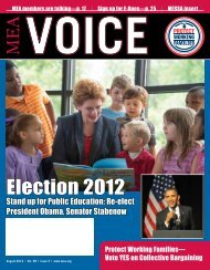 Election 2012 - Michigan Education Association