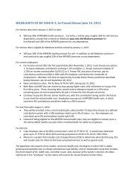 HIGHLIGHTS OF SB 1040 H-3, As Passed House June 14, 2012