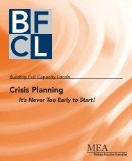 Crisis Planning - Michigan Education Association