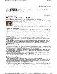 January 26, 2007 - Michigan Education Association