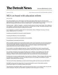 January 26, 2011 - Michigan Education Association