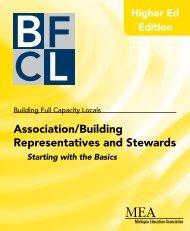 Association/Building Representatives and Stewards - Michigan ...