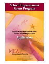 School Improvement Grant Program Application - Michigan ...