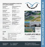 Flugplatz Wels - Fliegerclub Weiße Möwe Wels