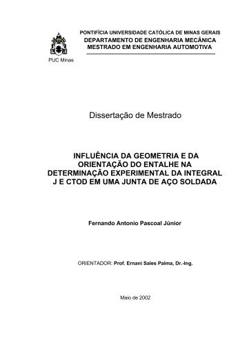 Dissertação de Mestrado - Programa de de Pós-Graduação em ...