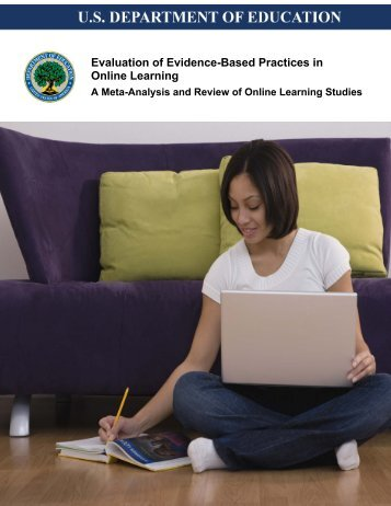Evidence-Based Practices in Online Learning - U.S. Department of ...