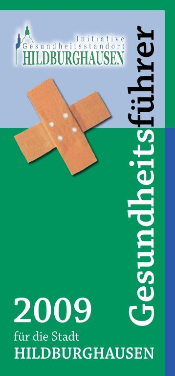 Markt 1, 98646 Hildburghausen - bei gesund-hibu.de!