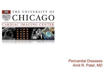 Pericardial Diseases Cards Lecture Series 2011-2012